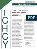 3 - NICHCY Como Criar Un Nino Con Necesidades Especiales