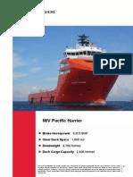 MV Pacific Harrier