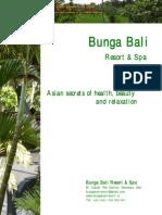 bunga bali resort & spa brochure