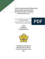 Pengaruh Budaya Organisasi Dan Kinerja Guru Terhadap Prestasi Belajar Siswa Sekolah Menengah Atas Negeri 1 Krueng Barona Jaya