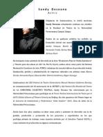 CV Semblanza Sandy 2014
