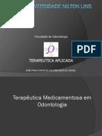1 Terapêutica Medicamentosa em Odontologia
