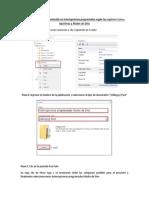 Manual para publicar contenido en interrupciones programadas según las regiones Cusco