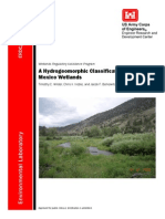 A Hydrogeomorphic Classification of New Mexico Wetlands