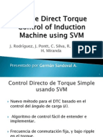 Simple Direct Torque Control of Induction Machine Using SVM