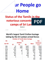 Status of Detained Tamils in Concentration Camps 18.08