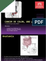 Cancer de Colon y Cancer Anorectal