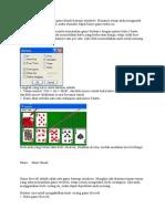Game Solitaire Merupakan Game Klasik Bawaan Windows