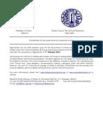 Indian Scholarship Information Brochure 2014-15