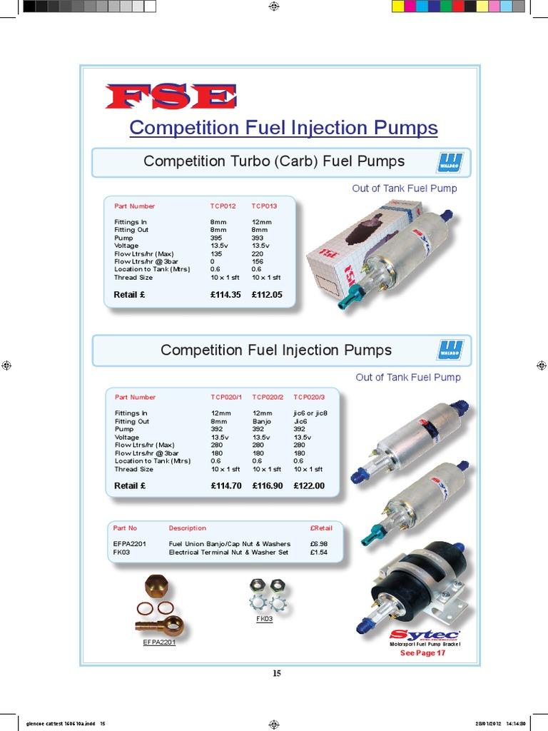 Sytec Weber Carburetor DCOE Competition Needle Valve Size 225 2279503-225