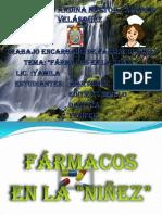 farmacos EN LA NIÑES MODIFICADO