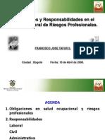 Responsabilidades en S.O. Dr. Francisco Tafur S - 1