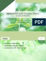 Aberration and Doppler Effect