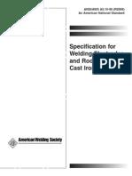 AWS Welding Standard Preview