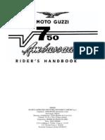 V7Ambassador Util Moto Guzzi