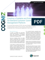 Creating a Scalable and Extensible On-Demand Customer Communications Management Platform