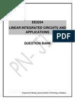 EE2254 LICA QB