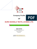Company Profile-Euro Bangla Textils