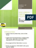 10btech 025 Dream Car Plant Location