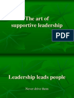 theartofsupportiveleadership-120827004036-phpapp01