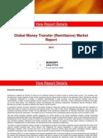 Global Money Transfer (Remittances) Market Report