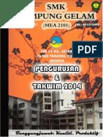 Buku Pengurusan SMeK-G 2014