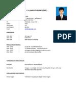 CV Lamaran Pekerjaan