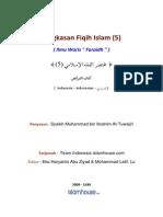 Summary of the Islamic Fiqh Tuwajre