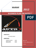 Business Plan on Auto 7
