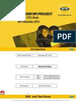 Wuse II,FCT,Abuja_ GSM Drive Test Report_MTN NPI Projec