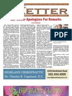 The Letter September 2009