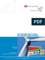 Article Overall Vibration Values for Reliable Wind Turbines