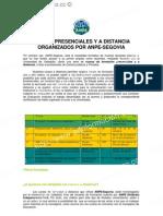 CURSOS PRESENCIALES Y A DISTANCIA ORGANIZADOS POR ANPE-SEGOVIA