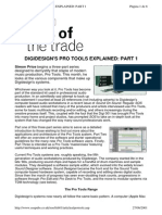 Digidesign's Pro Tools Explained 1