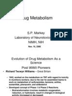Drug Metabolism 2006-2007