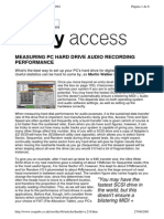 Pc Hard Drive Audio Recording
