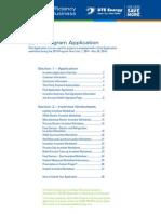 2014 Program Application_DTE