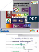 Project Quality Management - PMI PMBOK