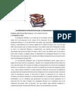LA PROPUESTA SOCIOPOLÍTICA DE LA PEDAGOGIA LIBERTARIA