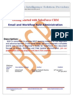 EMail and Workflow Administation