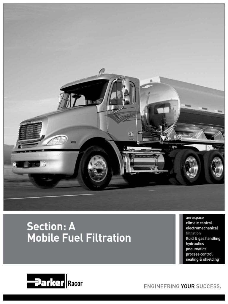7480j Section A Mobile Filtration Valve Webb Fuel Filters