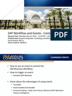 0811 SAP Workflow and Events Control the Flow