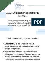 MRO +MaintenanceMaintenance