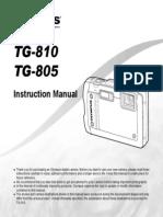 Olympus TG-810 Manual