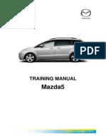 Mazda 5 - Training manual