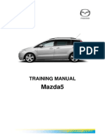 Mazda 5 - Training manual