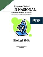 Rangkuman Materi UN Biologi SMA Berdasarkan SKL 2013(1)