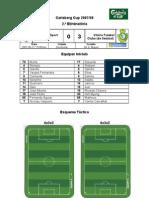 Gondomar SC vs Vitória FC (2.ª eliminatória - Carlsberg Cup 2007-2008)