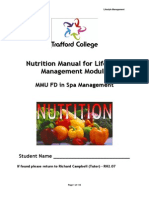 Nutrition Manual FD Spa 2012 Changes
