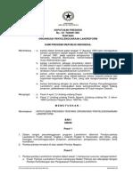 Keputusan Presiden Nomor 131 Tahun 1961 Tentang Organisasi Penyelenggaraan Landreform